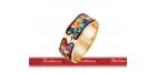 "BIJOUX FREY WILLE - HUNDERTWASSER - BRACELET ROYAL "" LARGE """