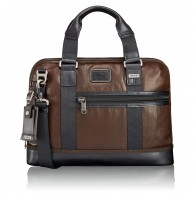 TUMI ALPHA BRAVO PORTE-DOCUMENTS COMPACT EN CUIR EARLE