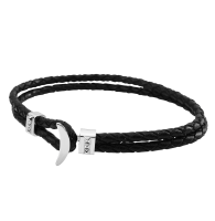 BRACELET  VOYAGE T-BAR ZEADES GRAPHIC BLACK