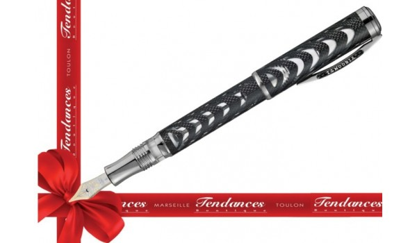 STYLO VISCONTI PLUME CARBON DREAM