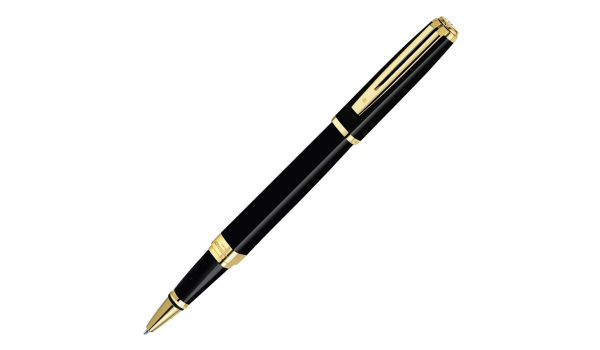STYLO WATERMAN ROLLER  Exception Slim Laque Noire GT