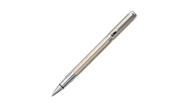 STYLO WATERMAN ROLLER Perspective Décor Champagne