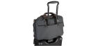 TUMI PORTE DOCUMENT MINCE BROOKS GRIS ALPHA BRAVO : réf  0222619AT2