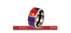 BIJOUX FREY WILLE  BAGUE LARGE  JOY W8  -  FREJOY W 812-78