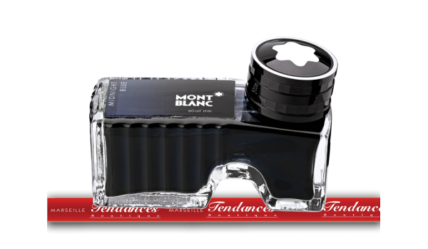 RECHARGE FLACON ENCRE MONTBLANC   MIDNIGHT BLUE  ref 105194